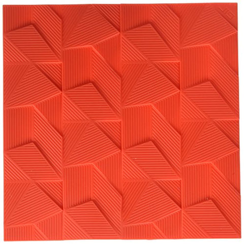 "GIR: Get It Right GIRKM1103RED Kitchen Mat Silicone Trivet/Potholder, 8"", Red"