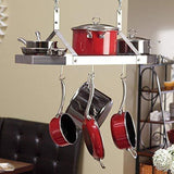 Purchase cuisinart crc 29b octagonal hanging cookware rack