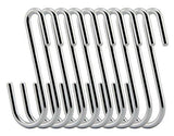 Purchase ruiling chrome finish steel s hook cookware universal pot rack hooks sturdy hanging hooks multiple uses for kitchenware pots utensils plants towels set of 10
