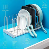 Get advutils adjustable cookware rack