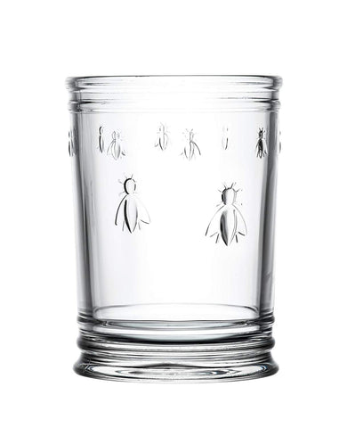 "La Rochere 6378.01_479 Napoleon Bee Utensil Holder, 6"", Crystal"