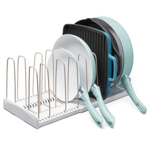 Featured advutils adjustable cookware rack