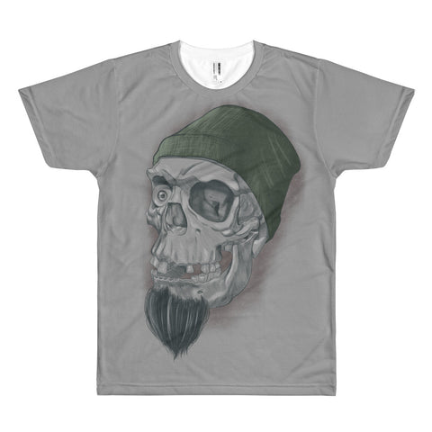 Skully From The Harbor - T-shirt - Front