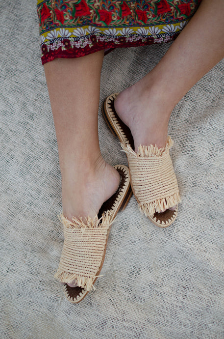 Raffia Shoes & Bags Are Here For Summer
