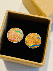 Cork: Cufflinks - LuckyLuLuAust