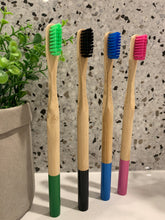 Load image into Gallery viewer, Bamboo Tooth Brush Set of 4