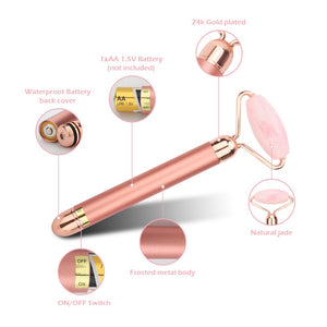 Electric Vibrating Natural Face Roller - LuckyLuLuAust