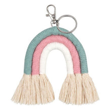 Load image into Gallery viewer, Rainbow Keychains Macrame - LuckyLuLuAust