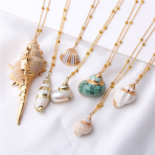 Sea Shell Necklaces - LuckyLuLuAust