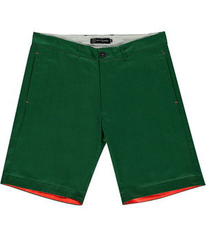 The Man O'War Khaki Cotton Shorts