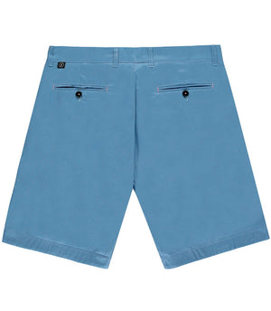 The Babylon Sky Blue Cotton Shorts