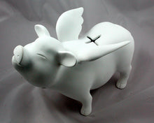 Load image into Gallery viewer, Flying Pig - Custom Piggy Bank w/ glitter