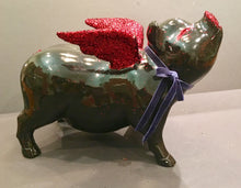 Load image into Gallery viewer, Flying Pig: One of a kind - Valentine's Flying Pig