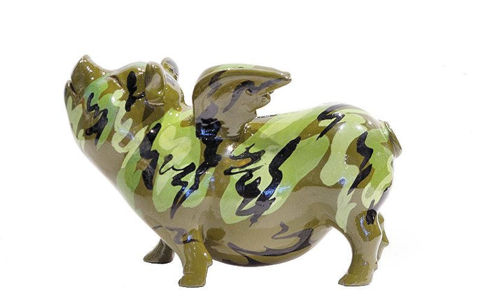 Flying Pig - Camouflage