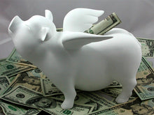 Load image into Gallery viewer, Flying Pig - Piggy Bank