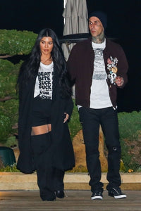 Kourtney Kardashian got hundreds of tulips from Travis Barker for her birthday