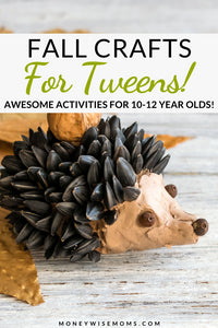 These fall crafts for tweens are easy, fun, and creative
