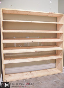 Little Space Diy Wood Shoe Rack