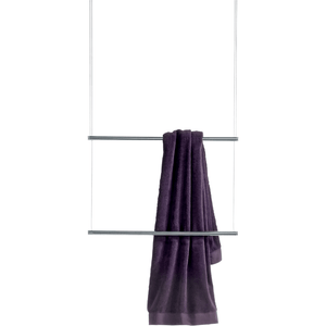 DWBA Brass Ceiling Double Towel Bar 25.6 Inch, Rack Rail Holder Hanger Organizer