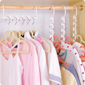 (80% OFF Today) Magic Hangers Closet Space Saving