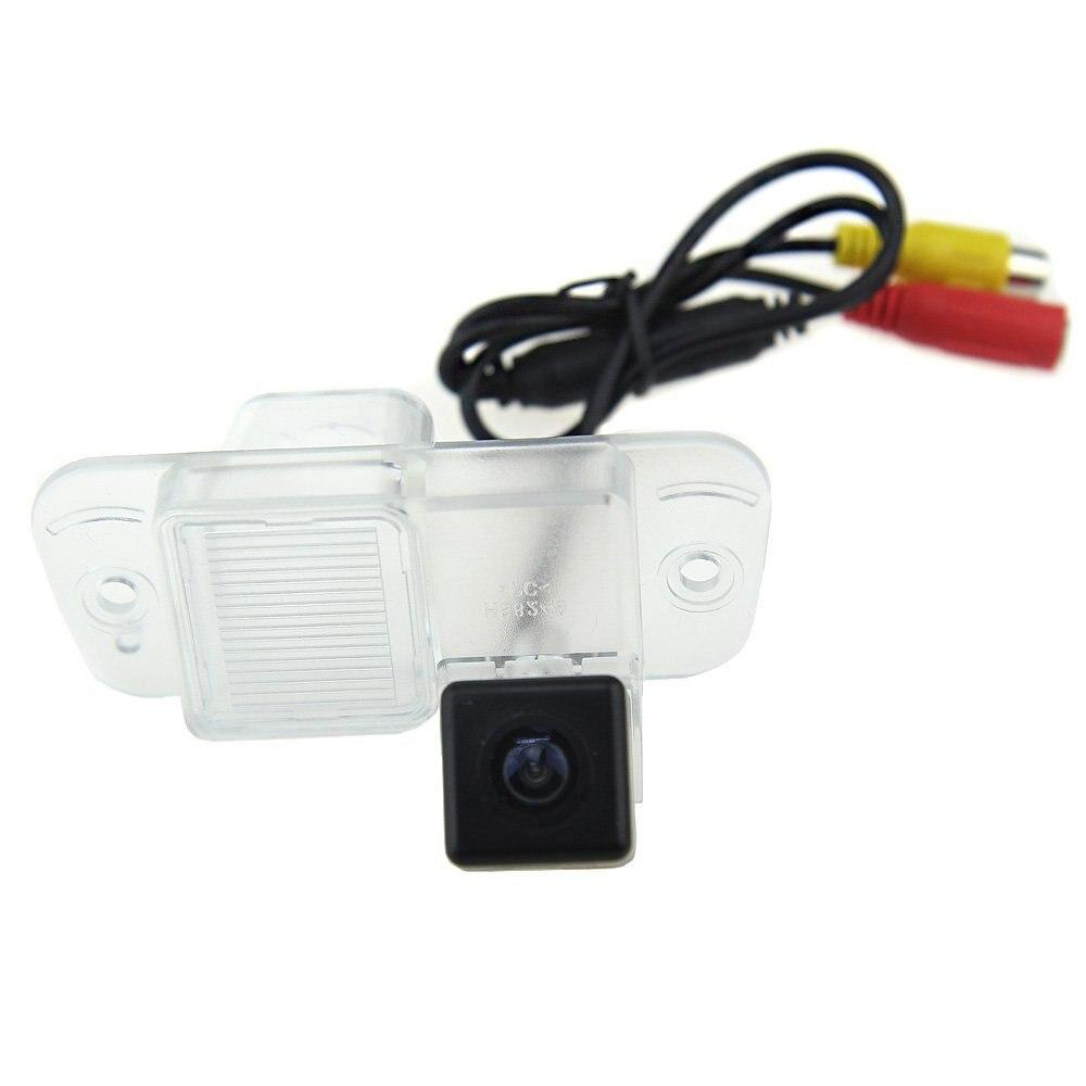 170 Degree Wide Angle HD CCD Color Night Vision Car Reverse Auto Rearview Backup Camera for Ssangyong Actyon 2011 Free Shipping