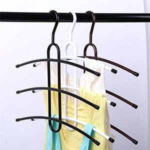 3PCS Multi-Purpose Cloth Rack, 3 Tier Cloth Hanger, (White)