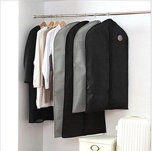 Kitchen garment bags suit bags with clear window for clothes storage and travel hanging suit uniform dance costumes dress and other important garments 3 pack black 128cm x 60cm 50 4x 23 6in