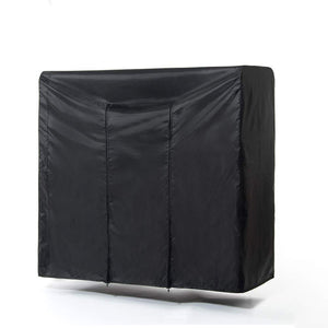 Cheap garment rack cover 59 large rolling rack cover only heavy duty z rack cover with 2 full strong zipper black wardrobe clothing rack cover clothes storage cover for dance costumes dress suits