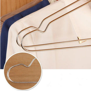 Ecolife Sunshine Stainless Steel Clothes Hangers 16.5 inch, Set of 30