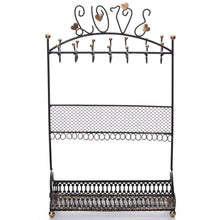 #COP3682BK Metal Jewelry Display Jewelry Stand Hanger Organizer