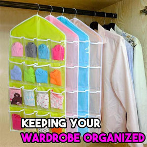 Hanger Storage Organizer (16 Pockets )