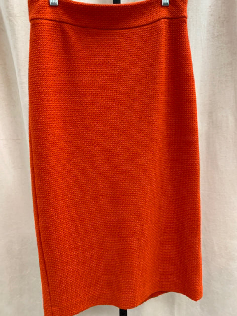 Size 6 ann taylor Orange Skirt