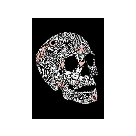 Tattoo Skull Print - abandon-ship-art