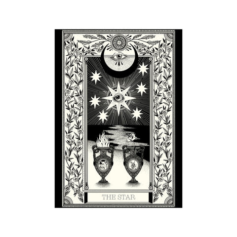 The Star Tarot Premium Large Print - abandon-ship-art