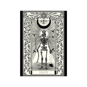 Death Tarot Premium Large Print - abandon-ship-art
