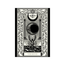 Load image into Gallery viewer, The Moon Tarot Premium Large Print - abandon-ship-art