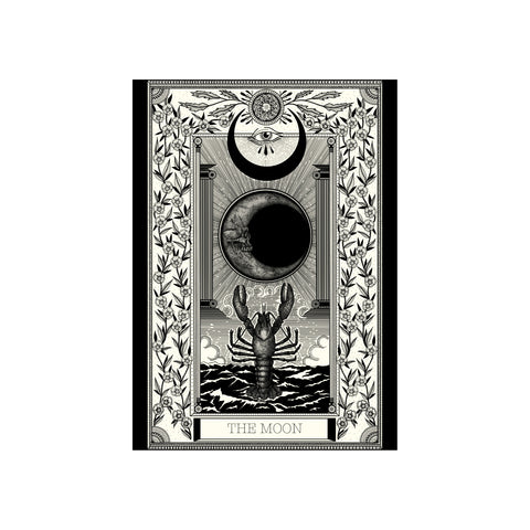 Moon Tarot Premium Print A3 - abandon-ship-art