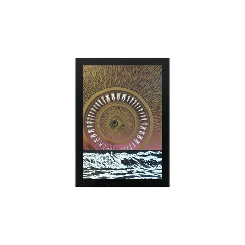 Slumber Print Metallic Gold Limited Edition - abandon-ship-art