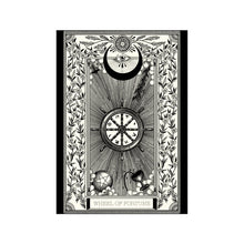 Load image into Gallery viewer, Wheel of Fortune Tarot Premium Large Print - abandon-ship-art