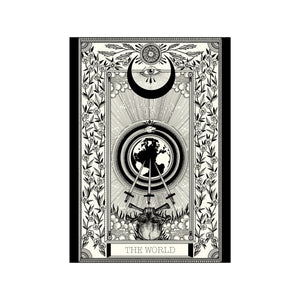 The World Tarot Premium Large Print - abandon-ship-art