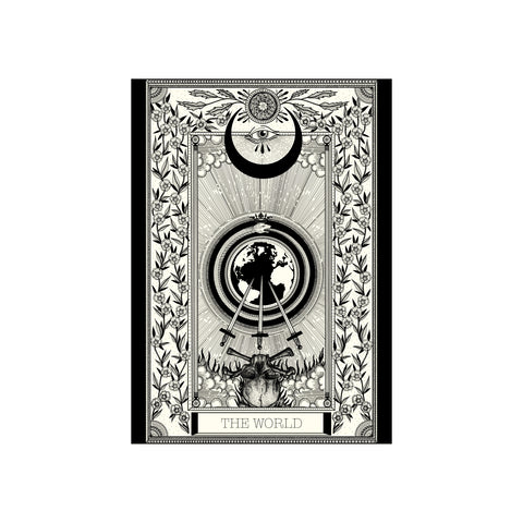 World Tarot Premium Print A3 - abandon-ship-art