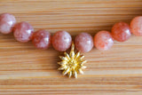 Sunstone Gemstone Choker