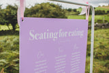 Lavender Seating Plan