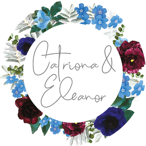 Rustic Floral Sticker
