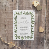 Eucalyptus Frame Invitation