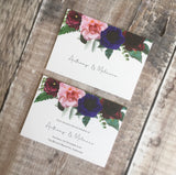 Vintage Floral Save The Date FREE SAMPLE