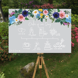 Floral Order of the Day Board