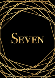 Geometric Table Numbers - Black & Gold