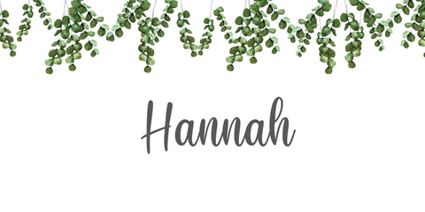 Eucalyptus Name Place Card