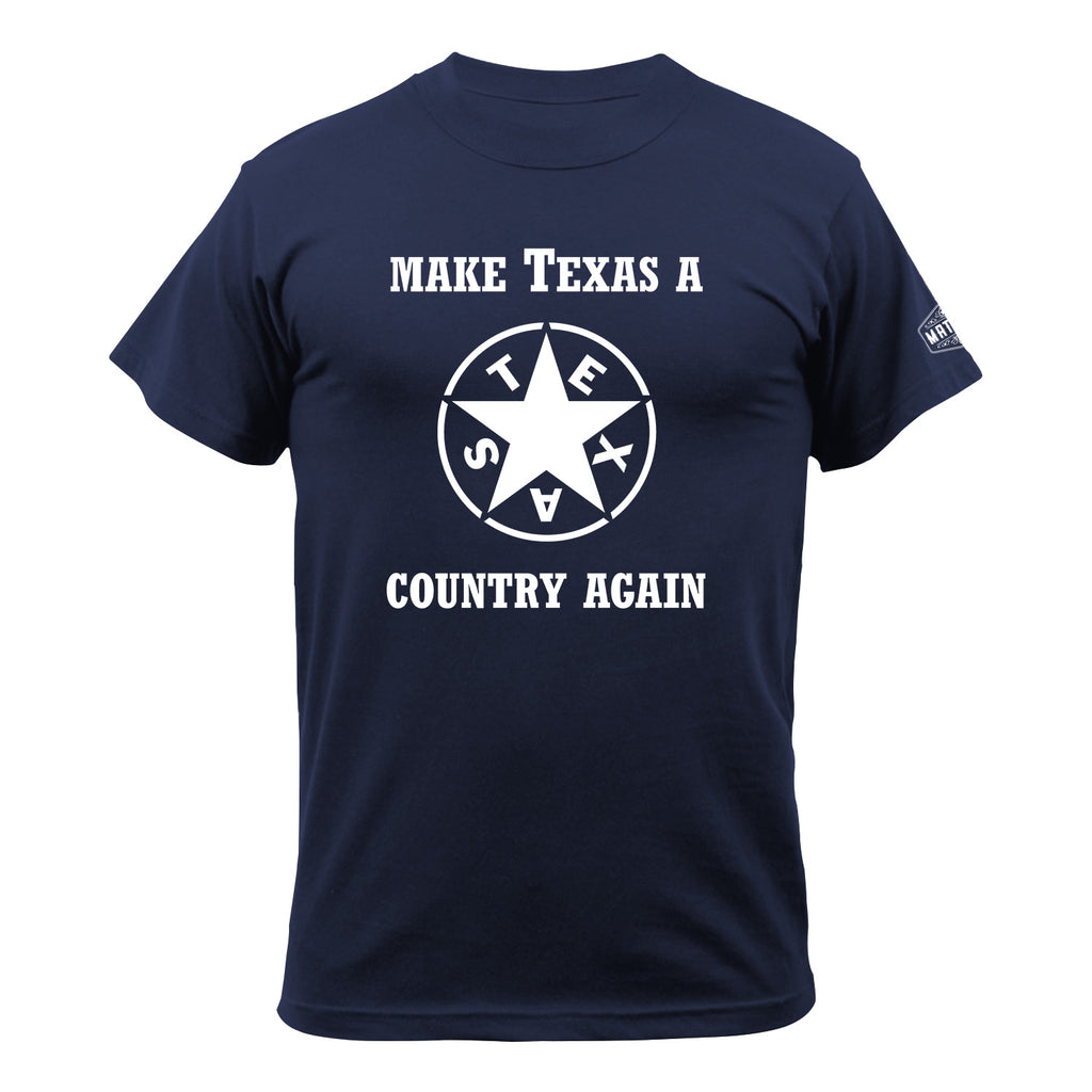 The Lorenzo de Zavala Texas Star - Make Texas A Country Again Edition - MATACA
